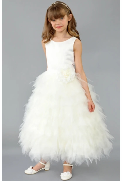 Us Angels Flower Girl Dress <br>Style The Peony Dress