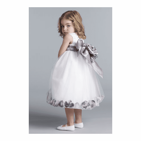 Us Angels Flower Girl Petal Dress Style 705