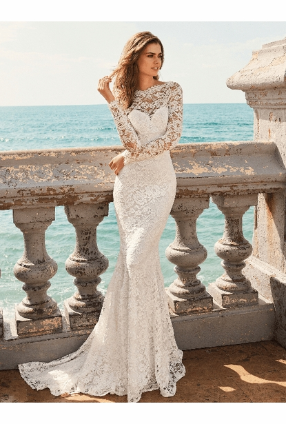 White One Wedding Dress - <br>SAMPLE Jianna $880