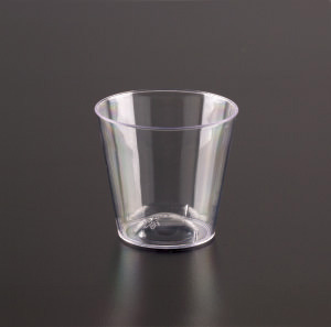 1 oz. Clear Plastic Shot Cup 50ct.
