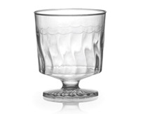 2oz. Plastic Footed Shot Cup 10ct.