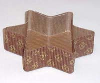 """5"""" Small Star Paper Baking Molds"""