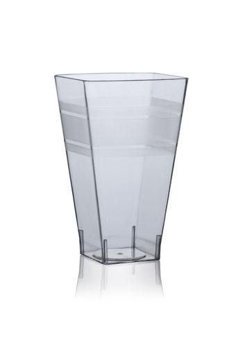 8oz. Wavetrends Square Clear Plastic Tumblers 14ct.
