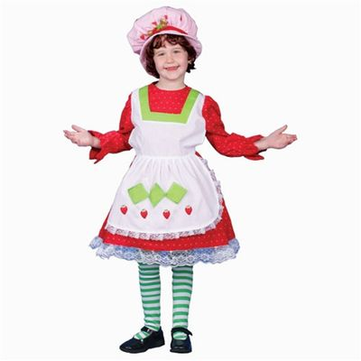 Adorable Strawberry Country Girl Children's Halloween Costume