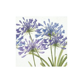 Agapanthus Paper Cocktail Napkins - 20 Per Package