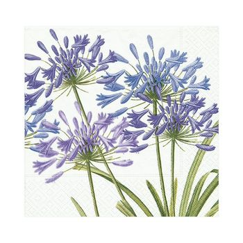Agapanthus Paper Luncheon Napkins - 20 Per Package