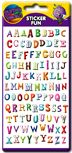 Alphabet Funky Stickers