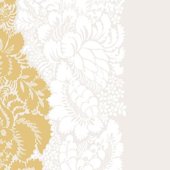 Ananas Ivory, Gold, and White Cocktail Napkins 20count