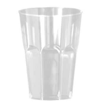 Antique Collection 8oz. Clear w/ Antique Scrolled Trim Tumblers, 20ct.