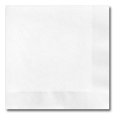 BLOWOUT!! 150CT White Dinner Napkins