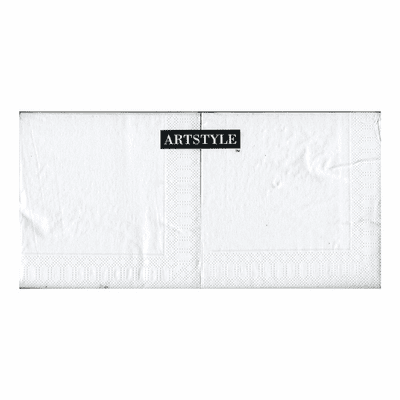 250CT White Beverage Napkins