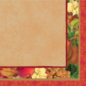 Autumn Offering Thanksgiving Lunch Napkins 16ct.