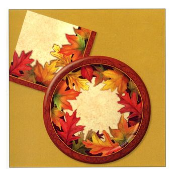 Autumn Traditions Thanksgiving / Autumn Dinner Napkins 20ct.