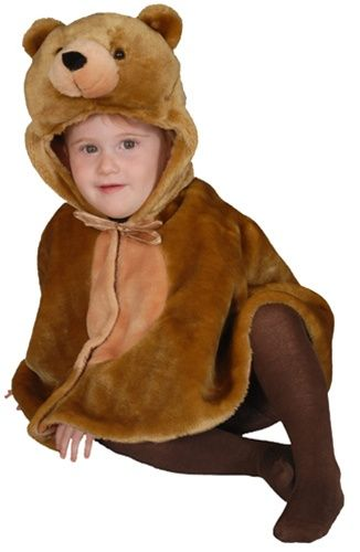 Baby Brown Bear Infant Cape Halloween Costume