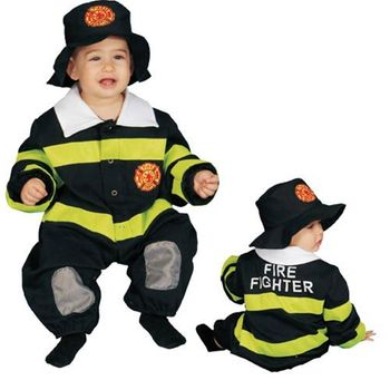 Baby Fire Fighter Infant Halloween Costume