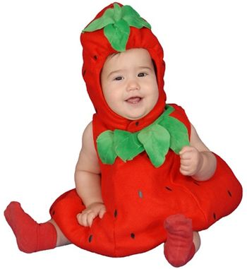 Baby Strawberry Infant Halloween Costume