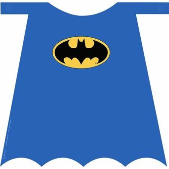 Batman Heroes and Villains Birthday Cape, 1ct.