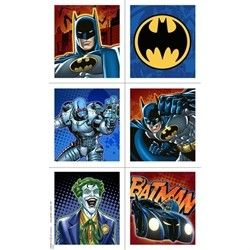 Batman Heroes and Villains Birthday Stickers, 24 stickers