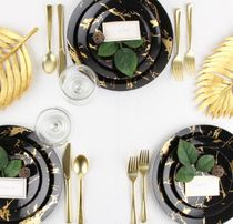 Black & Gold Stroke Collection