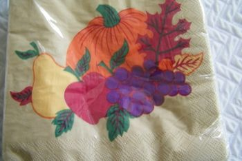 Bountiful Harvest Lunch Napkins 16 Ct.