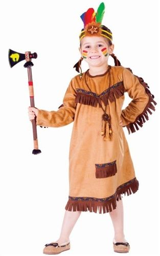 Brave Indian Girl Halloween Costume