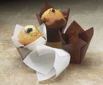 Brown Paper Tulip Baking Cups *Case of 100*