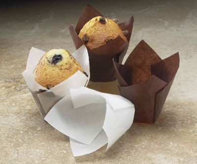 Brown Paper Tulip Baking Cups *Case of 50*