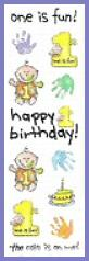 Cake On Me 1st Birthday Stickers 1 Sheet