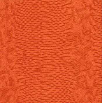 Caspari Orange Lizard Airlaid Paper Beverage Napkin, 15ct