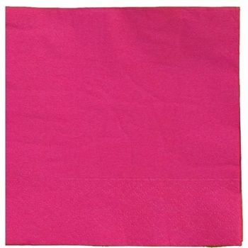 Cerise Beverage Napkins 20ct.