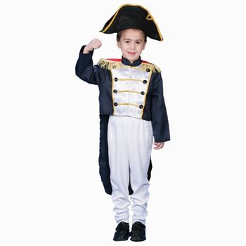 Colonial General Children's Halloween Costume