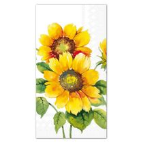 Colorful Sunflowers Paper Guest Towels: 16 Guest Towels per Pack