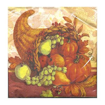 Cornucopia Dinner Napkins 20ct.