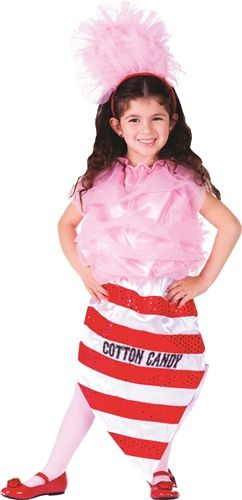 Cotton Candy Children's Halloween Costume