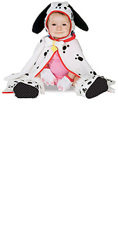 Dalmation Caped Cuties Infants Costume