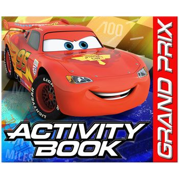 Disney Cars Dream Party Birthday Activity Book, 4ct.