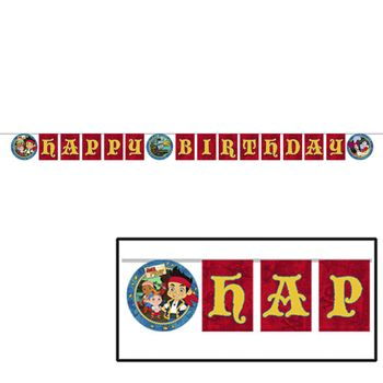 Disney Jake and the Never Land Pirates Birthday Party Banner