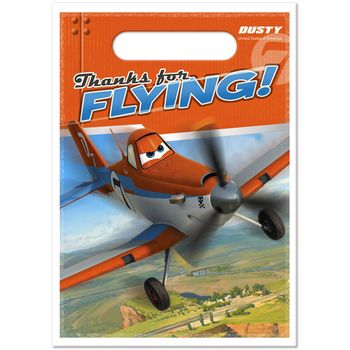 Disney Planes Birthday Party Plastic Treat Bags, 8ct.