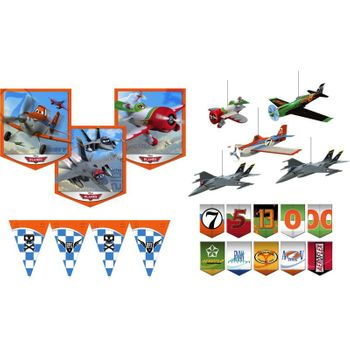 Disney Planes Birthday Party Room Transformation Kit