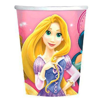 Disney Princess Sparkle Birthday Party 9oz. Paper Cups, 8 count
