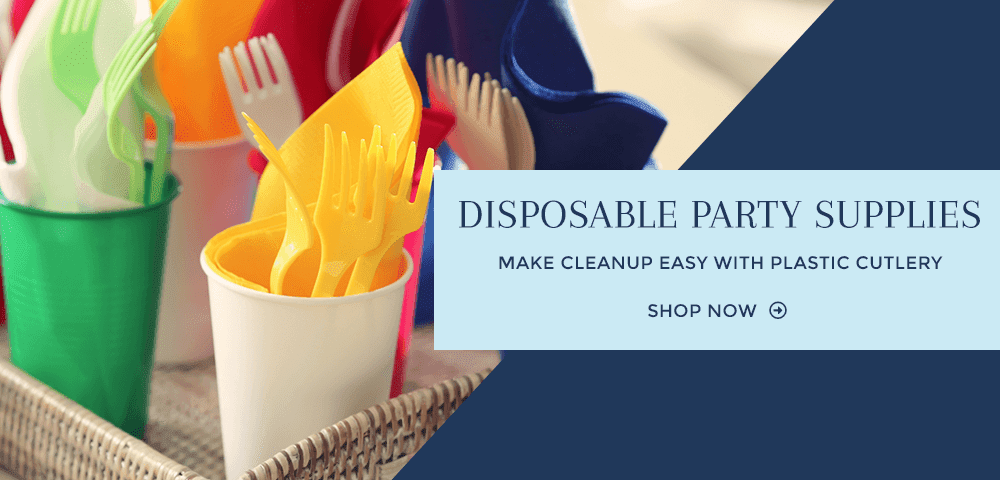 Disposable Party Supplies