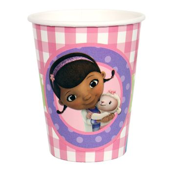 Doc McStuffins Birthday 9oz. Paper Cups, 8ct.