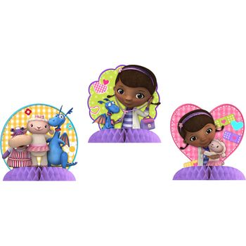Doc McStuffins Birthday Centerpiece, 3 pieces
