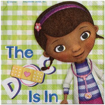 Doc McStuffins Birthday Lunch Napkins, 16ct.