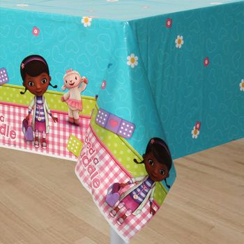 Doc McStuffins Birthday Plastic Table Cover, 1ct.