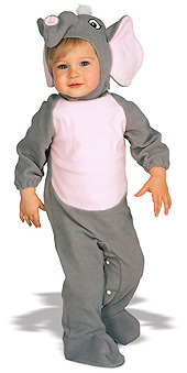 Elephant Work For Peanuts Infant Costume