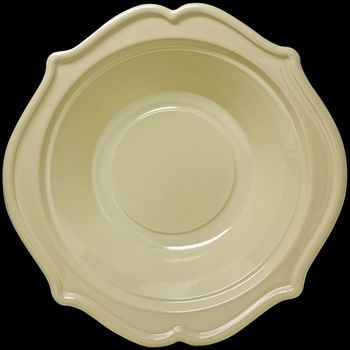 Festive 8oz. Ivory Plastic Disposable Bowls 12ct.