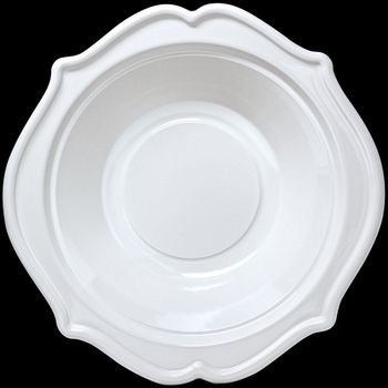 Festive 8oz. White Plastic Disposable Bowls 12ct.
