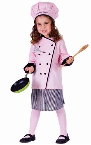 Girl Master Chef Halloween Costume