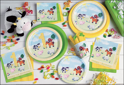 Cheap & Discount Kids Birthday Party supplies for boys and girls.